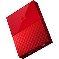 Внешний жесткий диск 2Tb Western Digital My Passport, Red, 2.5', USB 3.0 (WDBYFT0020BRD-WESN)