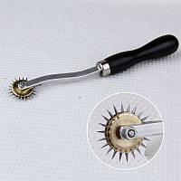 Инструмент для разметки кожи разметчик копир иголка шаг 4мм