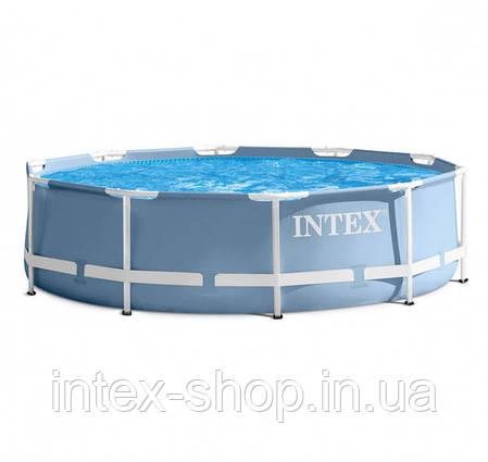 Бассейн каркасный + фильтр-насос 366х76см Intex 28712/28212, фото 2