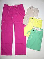 Тонкие коттоновые весенние брюки для девочек подростковые 134,140,146,152,158,164р. из Венгрии