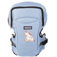 Рюкзак - переноска  для малышей Zaffiro Womar™ №15 Эксклюзив / Голубой