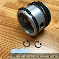 Поршень компрессора БОГДАН (РАЗМЕР 65,5 Р2 второй ремонт) (В СБОРЕ) (для компрессоров MAPO) (МО076.300-Р2)