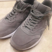 Кроссовки мужские Nike air max 90 Deluxe suede grey