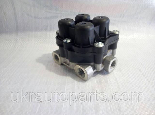 Клапан защитный 4-х контурный ЗИЛ МАЗ ПАЗ УРАЛ (ПААЗ) 257343700157 (14.3515410 (ПААЗ))