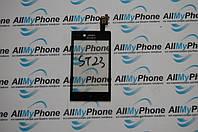 Сенсорный экран для мобильного телефона Sony  ST23i Xperia Miro черный