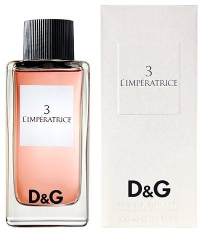 Dolce & Gabbana 3 L`Imperatrice женская туалетная вода, 100ml