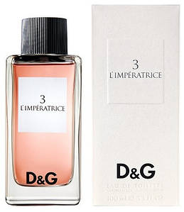 Dolce & Gabbana 3 L`Imperatrice (Дольче Габбана 3 Императрица), женская туалетная вода, 100ml