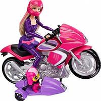 Шпионский мотоцикл Барби