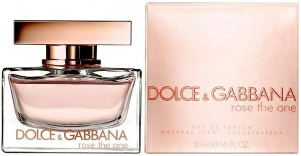 Dolce & Gabbana Rose The One (Дольче Габбана Роуз Зе Ван), женская туалетная вода, 100ml