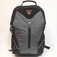 Рюкзак в стиле swiss серый, фото 1