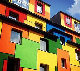 Розфарбуємо фасад будинку!