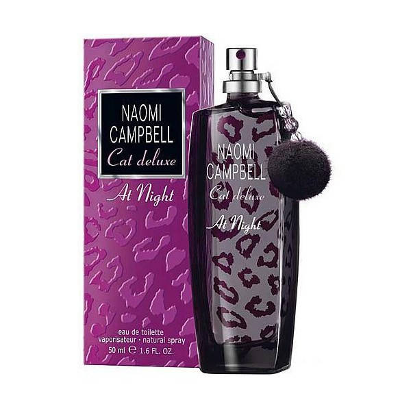 Naomi Campbell Cat Deluxe At Night (Наоми Кемпбелл Кет Делюкс Найт), женская туалетная вода, 75 ml