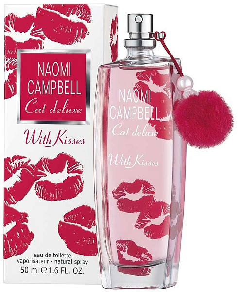 Туалетная вода женская Naomi Campbell Cat Deluxe with Kisses, 75 мл