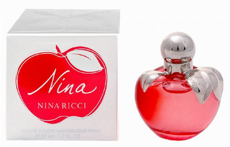 Nina Ricci Nina Apple (Нина Эпл),женская туалетная вода, 80 ml