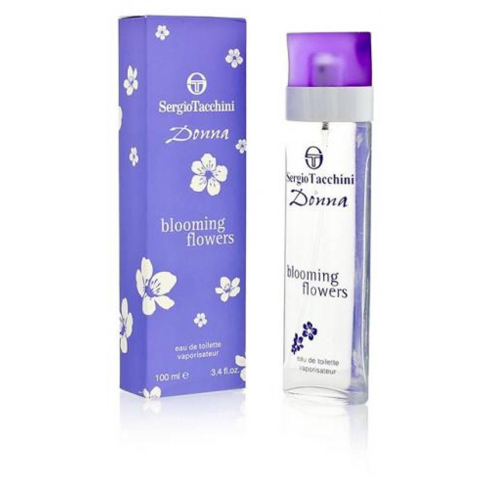 Sergio Tacchini Donna Blooming Flowers( Сержио Тачинии Донна Блуминг Фловерс), женская туалетная вода , 100 ml