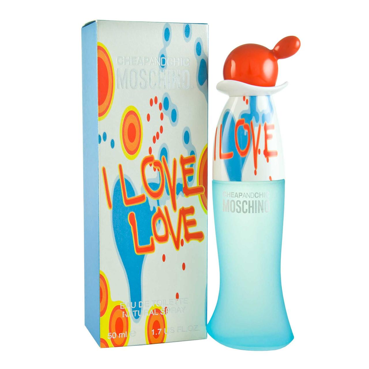 Moschino Cheap and Chic I Love Love (Москино Чип энд Чик Ай Лав Лав), женская туалетная вода , 100 ml