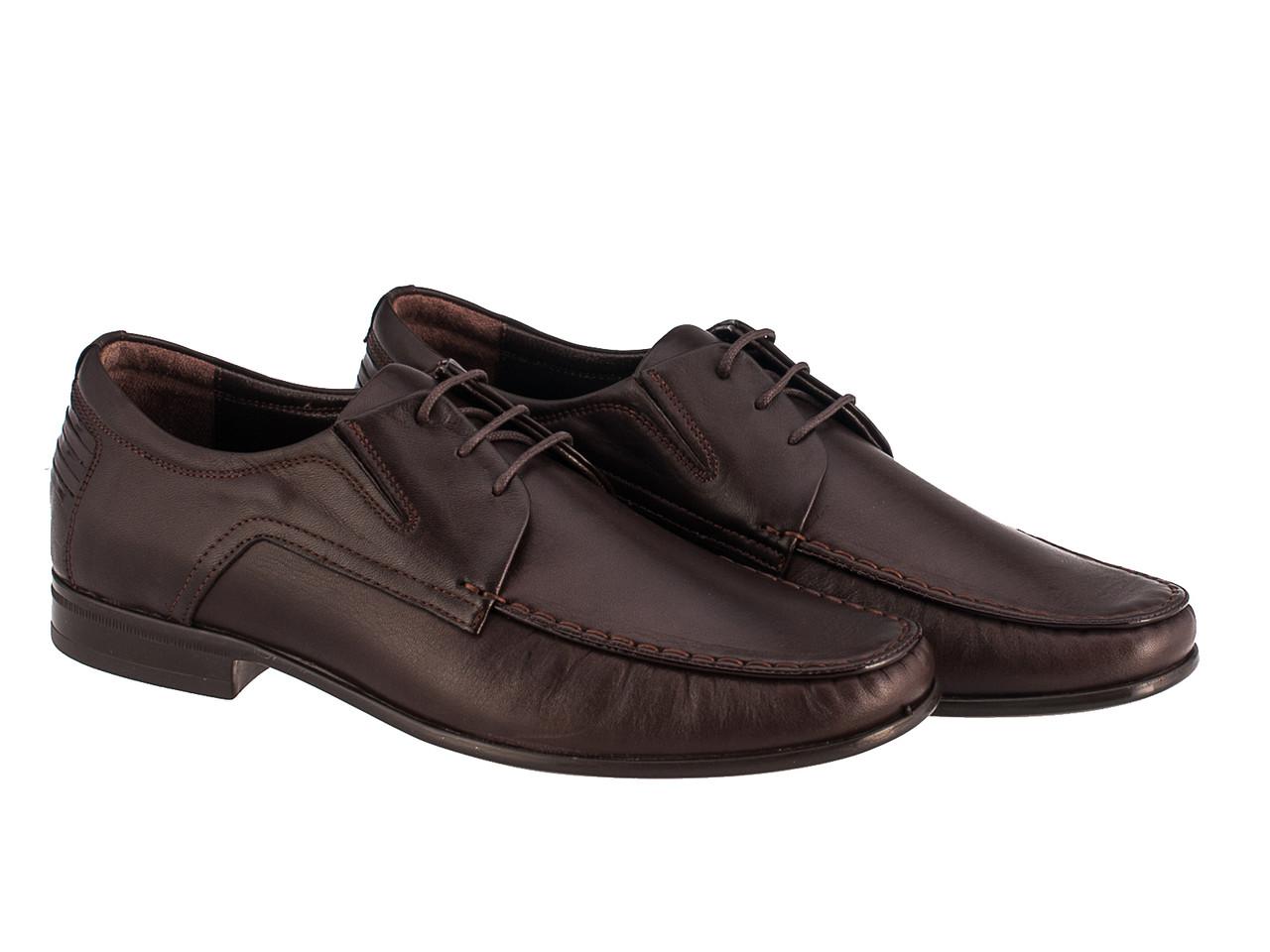 Мокасины Etor 9541-679-1 40 коричневые