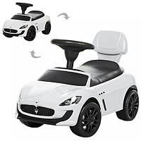 Каталка-толокар Maserati  Z 353-1, белая , белая