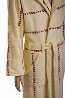 Удобный мужской махровый халат XL,XXL, SOFT SHOW COLLECTION (СОФТ ШОУ КОЛЛЕКШН) SS1212