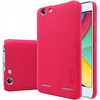 Чехол для моб. телефона NILLKIN для Lenovo Lemon X3 Lite - Super Frosted Shield (Red) (6274096)