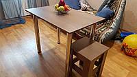 Стол обеденный на хромированных ножках (ДСП) 900 х 60 х 75см