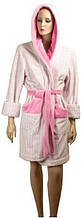 Чудесный халат женский размер L, М, SOFT SHOW COLLECTION (СОФТ ШОУ КОЛЛЕКШН) SS1204-71