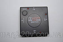 HDMI switch(сумматор) 3x1 ( 3 входа/ 1 выход)