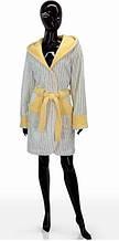 Модный женский халат L, S, M, SOFT SHOW COLLECTION (СОФТ ШОУ КОЛЛЕКШН) SS1204-72