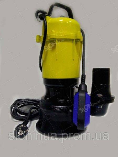 Фекальный насос Maxima WQD 1.5 кВт с рубящим механизмом