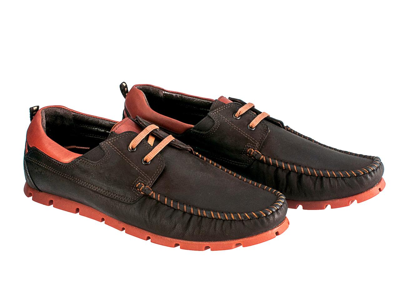 Мокасины Etor 13651-16654-275 42 коричневые