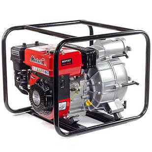 Бензиновая мотопомпа для грязной воды Matari MGP30T-1 Производительность 1300 л/мин.