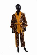 Женский спальный костюм soft show collection ss1207-2 из микрофибры