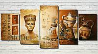 "Модульная картина ""Египет"" масло, холст!"