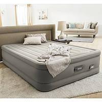 Надувная кровать велюр Intex (64770) 203-152-46см, фото 1