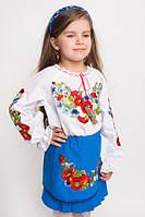 Нарядная детская вышитая юбка в украинском стиле