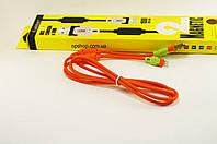 USB кабель шнур для iPhone 5,6,7 Lightning , кабель для зарядки айфона 1.5м Earldom ET-125