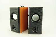 Компьютерные деревянные колонки акустика M-006B