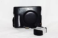 Защитный футляр - чехол для фотоаппаратов NIKON Coolpix P7700, Coolpix P7800 - цвет черный