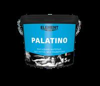 Фасадный материал Palatino, имитирующий срез травертина