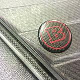 Эмблема в руль карбоновая на Mercedes G-Сlass W463, фото 2