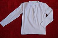 Детская хлопковая кофточка белая для девочки полотно интерлок