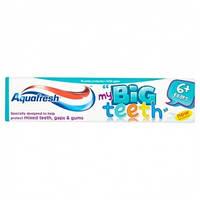 """Зубная паста Aquafresh 50 мл """"Мои большие зубки"""" 6+ лет"""