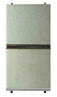 ABB Zenit Механизм Выключателя одноклавишный проходной (1 модуль) шампань