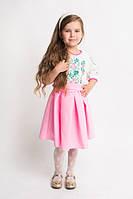 Нежное красивое платье вышиванка на девочку