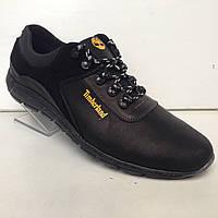 Мужские кожаные кроссовки Timberland (большой размер) р.46-50, фото 1