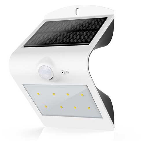 Автономный LED светильник на солнечной батарее LSD-SWL-1.5W с датчиком движения