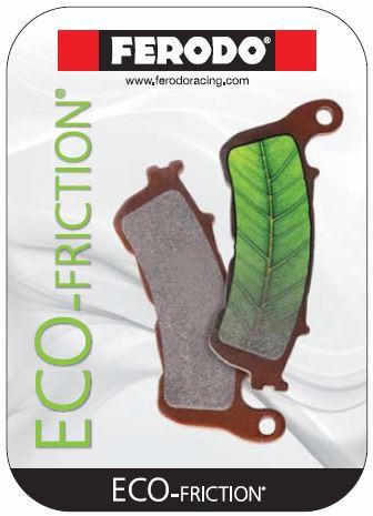Комплект тормозных колодок Ferodo ECO FRICTION FDB2119EF