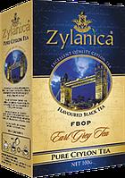 Чай Zylanica чёрный FOBP 100гр. бергамот