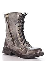 Ботинки Just-r (Justor) серые высокие  , фото 1