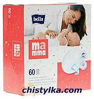 """Лактационные вкладыши """"Bella Mamma"""" на липучке, 60 шт."""